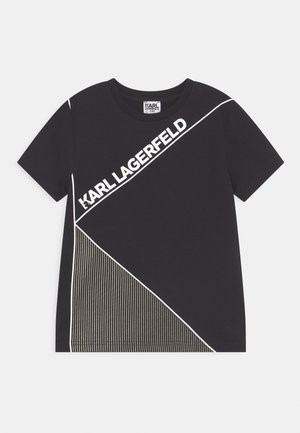 SHORT SLEEVES TEE - T-shirt con stampa - black