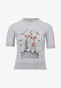 Rosa & Me - POLLY - Print T-shirt - grey - 4