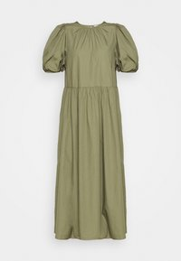 Envii - ENSAFFRON DRESS - Maxi dress - deep lichen green - 4