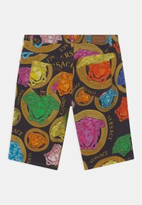 Versace - MEDUSA AMPLIFIED - Denim shorts - black/multicolor - 1