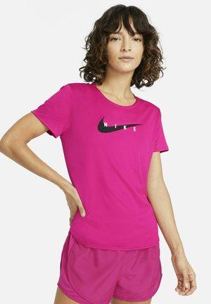 RUN - T-shirt z nadrukiem - fireberry