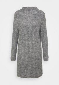 JDYABIA DRESS - Stickad klänning - grey melange