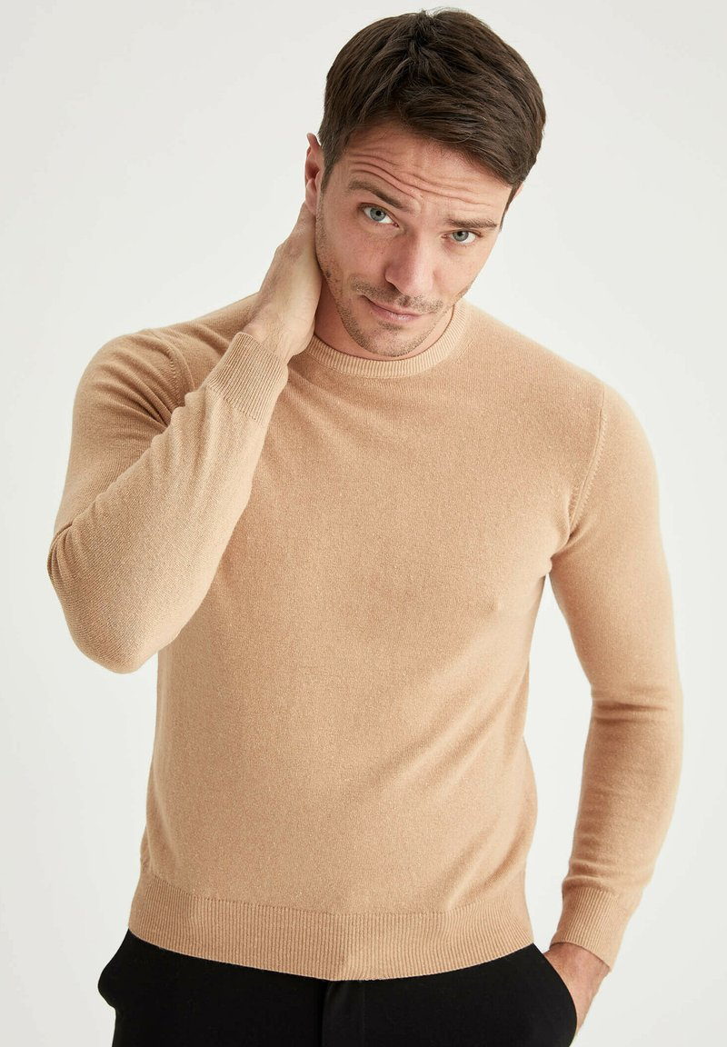 DeFacto - ITALIAN COLLECTION - Neule - brown