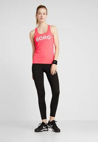 Björn Borg - CHAM TANK - Sports shirt - diva pink - 1