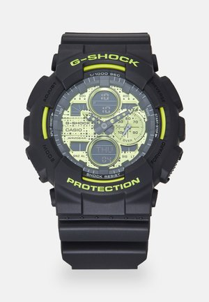 GA-140DC - Digitalklocka - black/neon yellow