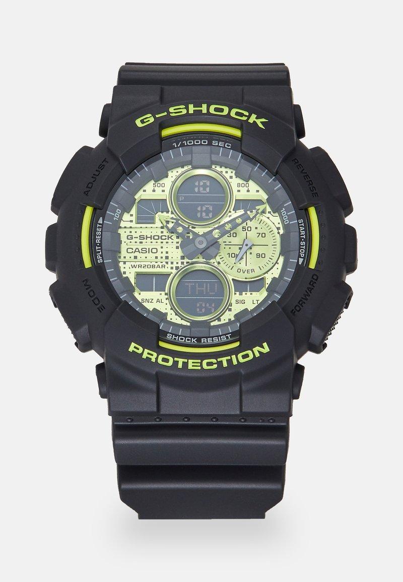 G-SHOCK - GA-140DC - Digitalklocka - black/neon yellow