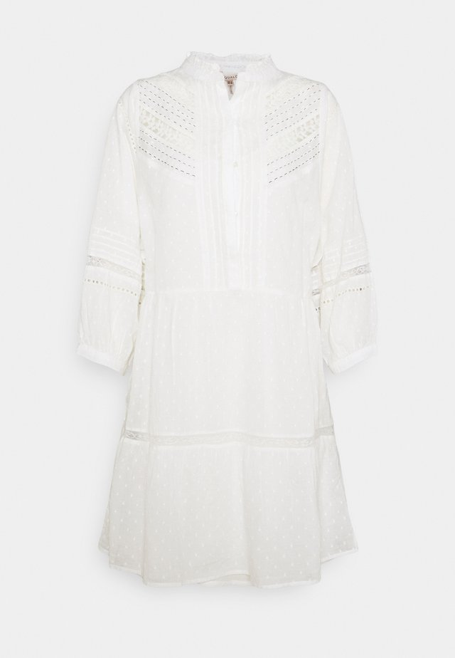 DRESS PLUMMETS - Korte jurk - off white