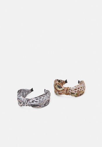 ONLEMILY HAIRBAND 2 PACK - Hair styling accessory - black/lichen