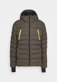 Brunotti - SAXON MENS SNOWJACKET - Snowboardová bunda - pine grey - 6