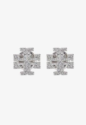 KIRA PAVE STUD EARRING - Earrings -  silver-coloured