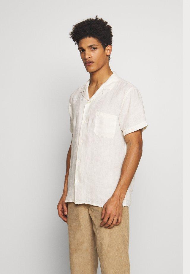 MALICK - Camisa - ecru