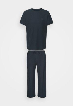 TEE AND JOGGER - Pyjama set - navy