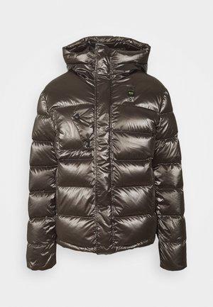 GIUBBINI CORTI IMBOTTITO - Down jacket - metallic brown