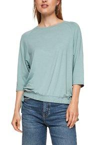 s.Oliver - À NŒUDS DÉCORATIFS - Long sleeved top - light green - 4