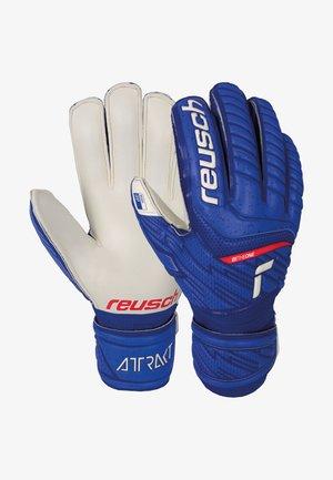 Goalkeeping gloves - deep blue / white