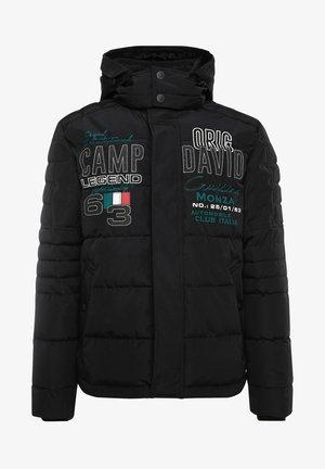 IM RACING-STIL MIT ARTWORKS - Winter jacket - black