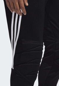 adidas Performance - TIERRO GOALKEEPER TRACKSUIT BOTTOMS - Verryttelyhousut - black - 5