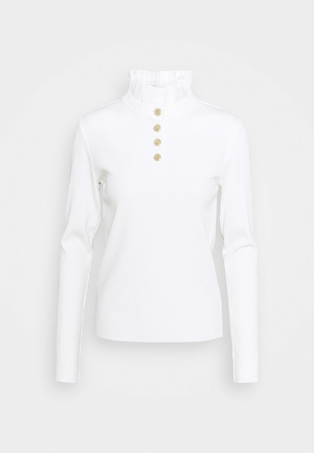 CHARM - Long sleeved top - blanc