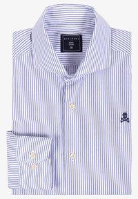 Scalpers - Shirt - blue stripes - 1
