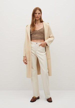HOODIE - Cardigan - beige