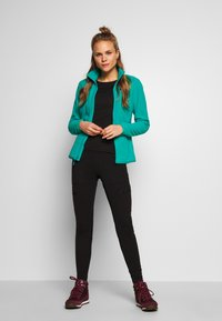 The North Face - WOMENS GLACIER FULL ZIP - Fleecejakke - jaiden green - 1