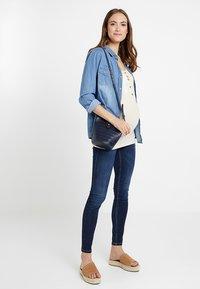 bellybutton - UNTERBAUCHBUND - Jeans Skinny Fit - dark-blue denim - 1