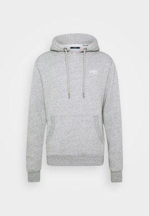Mikina skapucí - soft grey