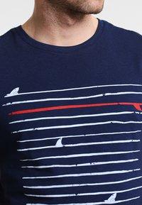 Pier One - T-shirt print - navy - 3