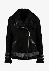 Maze - JEAN - Leather jacket - black - 5