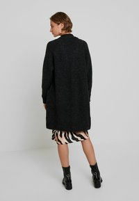 Selected Femme - SLFLANNA CARDIGAN - Cardigan - dark grey melange - 2