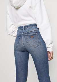 Abrand Jeans - HIGH ANKLE BASHER - Jeans Skinny Fit - stone blue denim - 5
