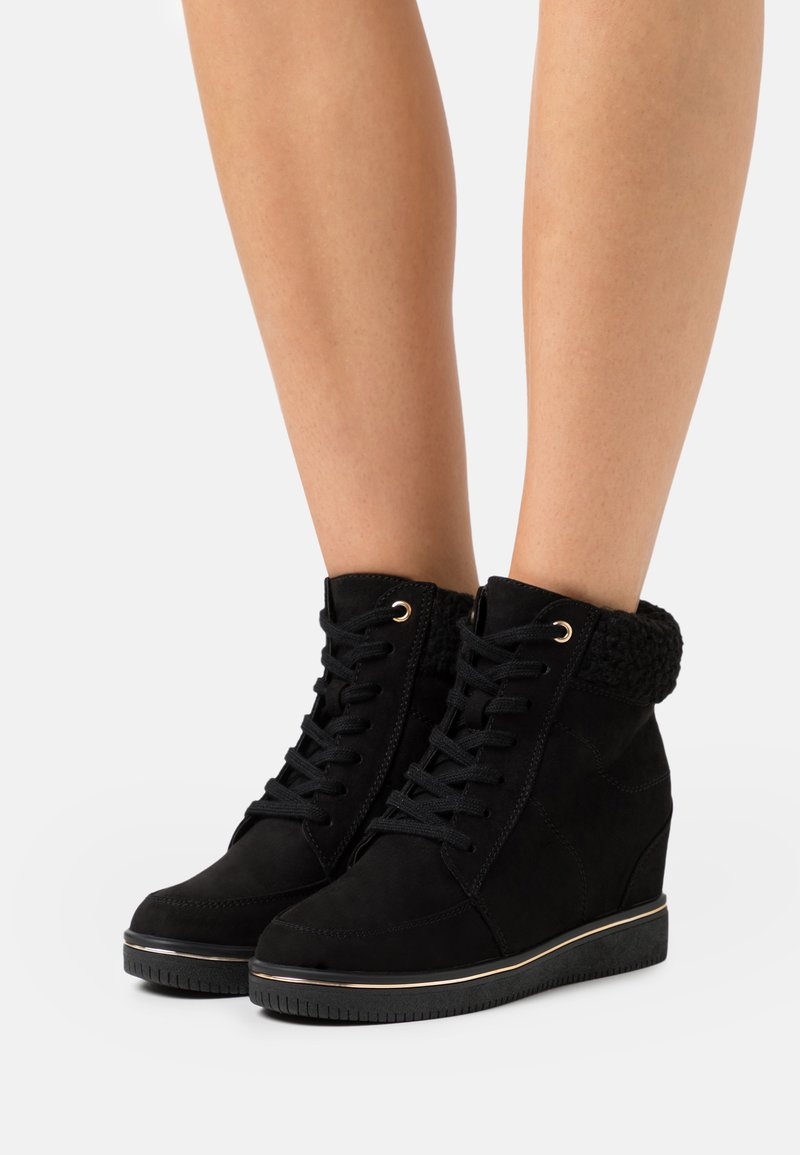 New Look - Ankle boots - black
