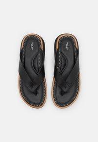 rag & bone - PARKER THONG - T-bar sandals - black - 4