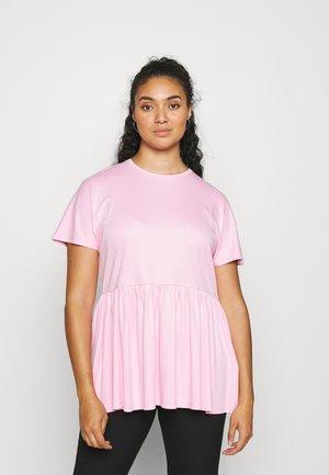 PEPLUM - Basic T-shirt - pink