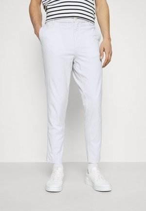 SLHSLIMTAPERED ISAC PANTS - Trousers - ballad blue