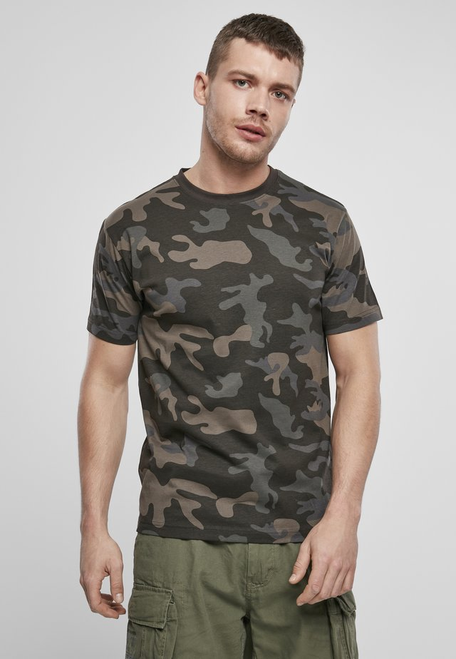 T-shirt - bas - darkcamo