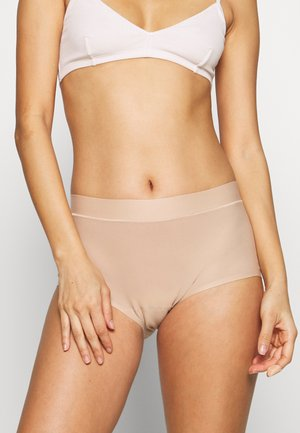 SOFTSTRETCH BOY SHORT - Pants - nude