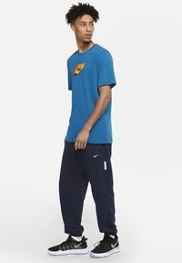 Nike Performance - DF STD ISSUE - Tracksuit bottoms - college navy/pale ivory - 1