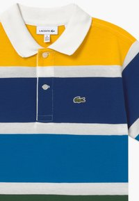 Lacoste - Polo shirt - farine/multicolor