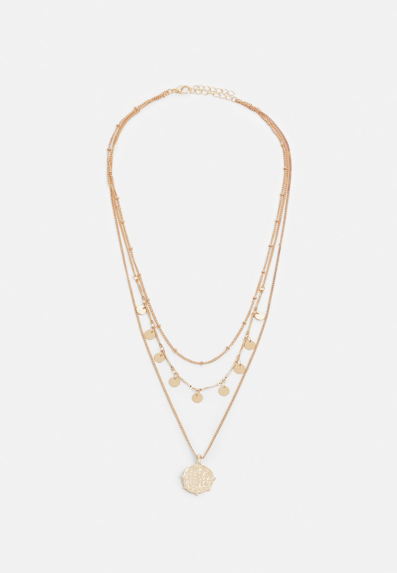 Fire & Glory - MATTY COMBI NECKLACE - Necklace - gold-coloured