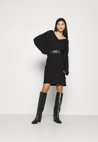 Zign - Jumper dress - black - 1