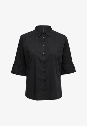 RAMIS  - Button-down blouse - black