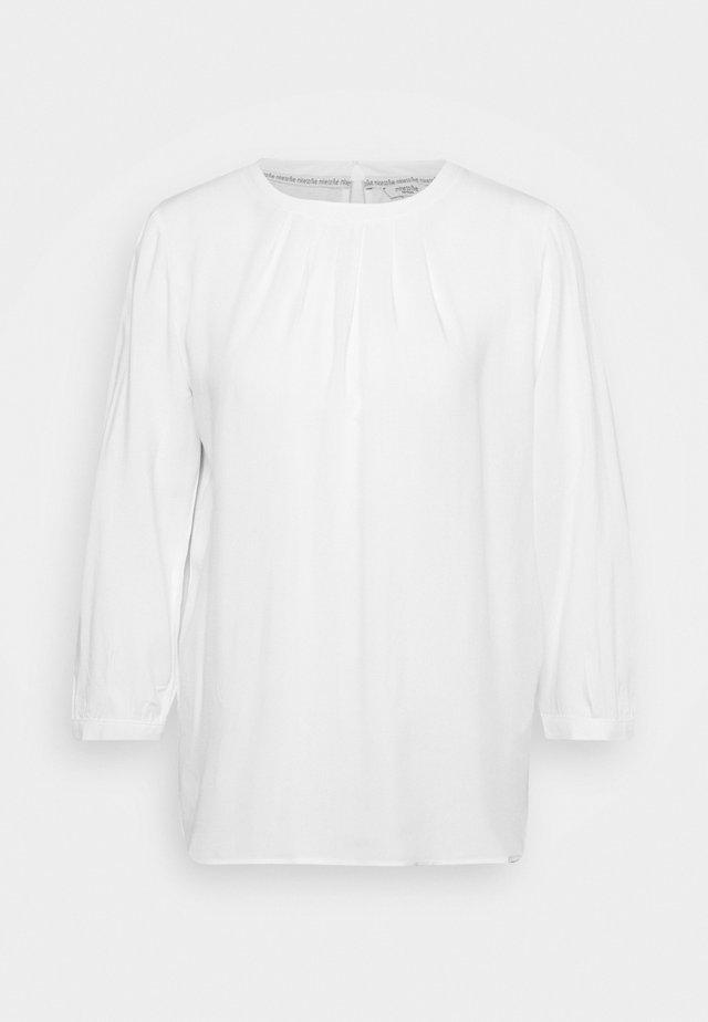 EASY  - Topper langermet - white