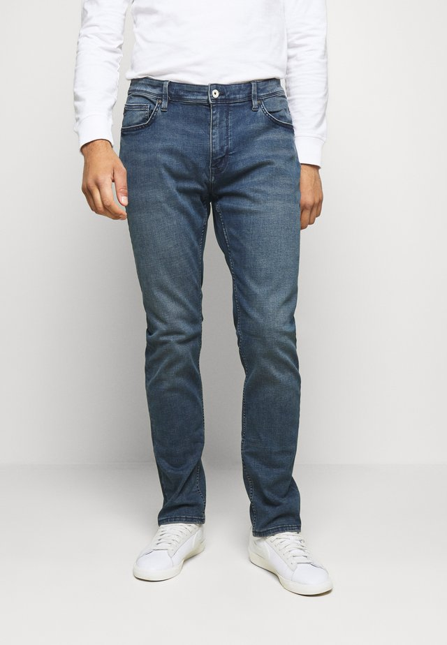 ROSLONE - Straight leg jeans - blue