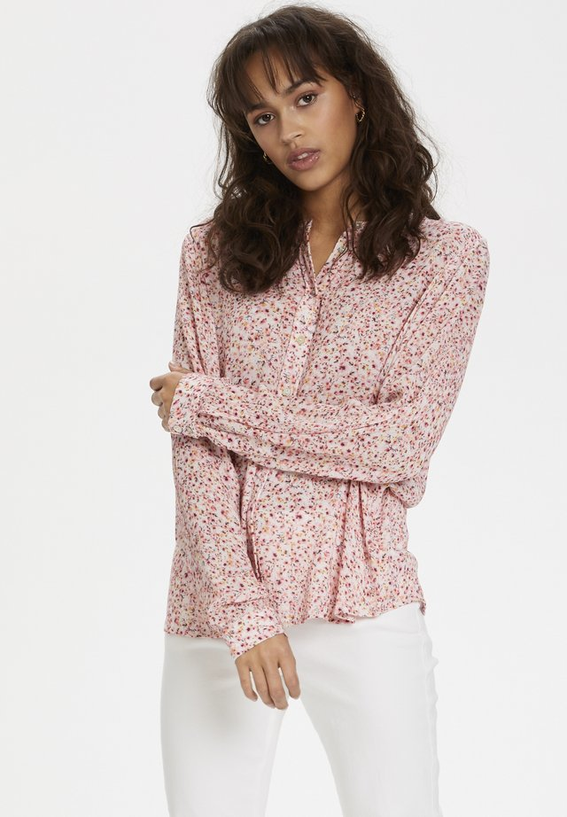 KAFFE KAADRIA PPP SHIRT - Blouse - pink small flowers