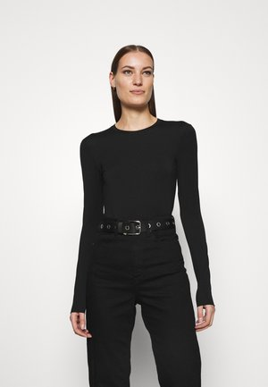 Long sleeved top - black dark