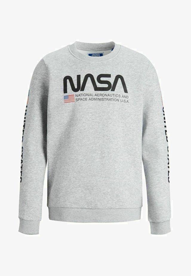 NASA - Sweater - light grey melange
