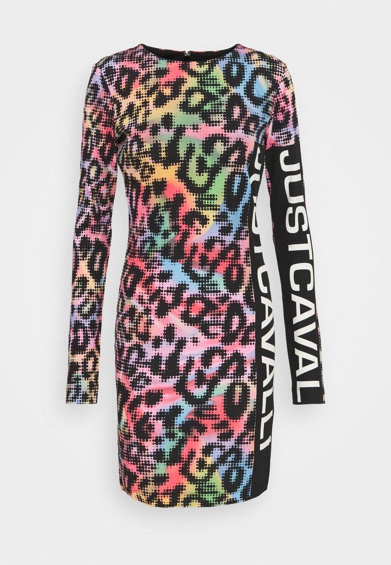 Just Cavalli - Žerzejové šaty - multicolor