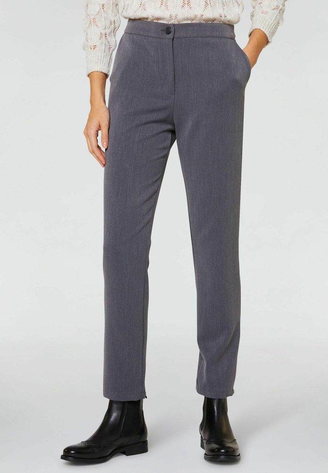 Pantaloni - grigio medio melange