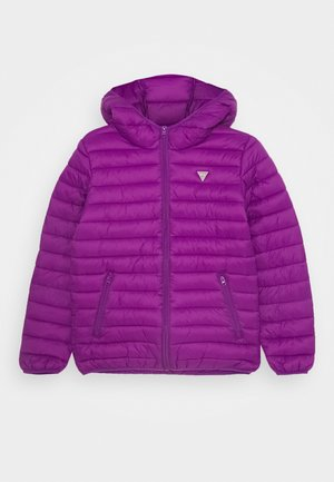 JUNIOR UNISEX PADDED PUFFER - Kurtka zimowa - new plum light